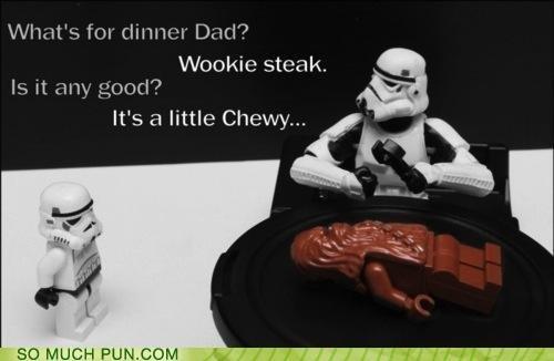 Wookie Steak Is Chewy