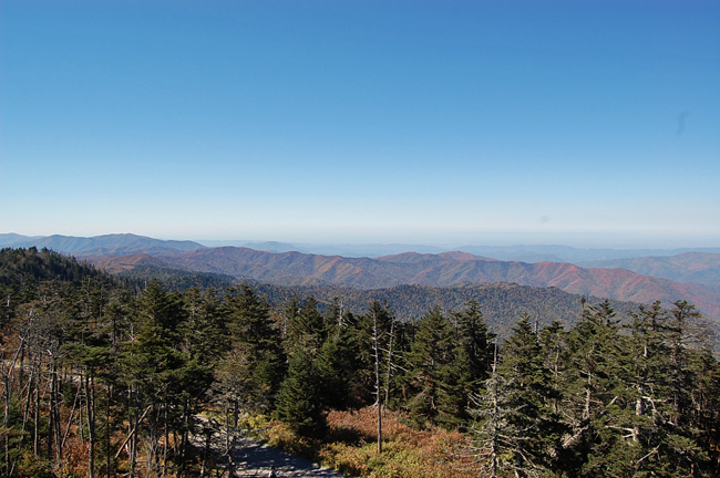 Looking West From Clingman's Dome