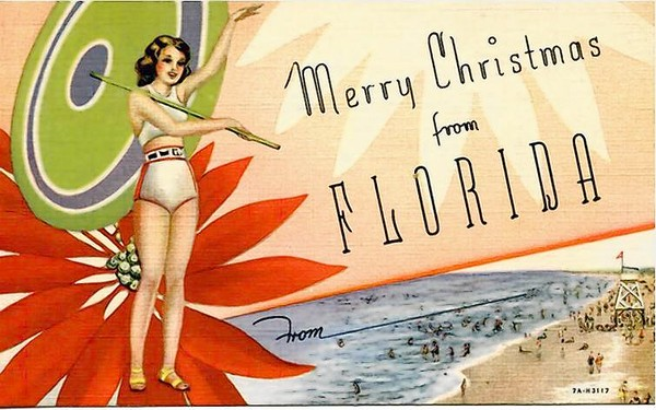 Merry Christmas From Florida - J M Wetherington Sr