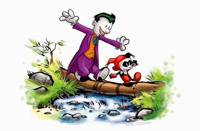 mashup calvin hobbes joker harley650px Calvin/Joker Mashup