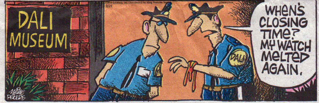 Dali Museum cartoon