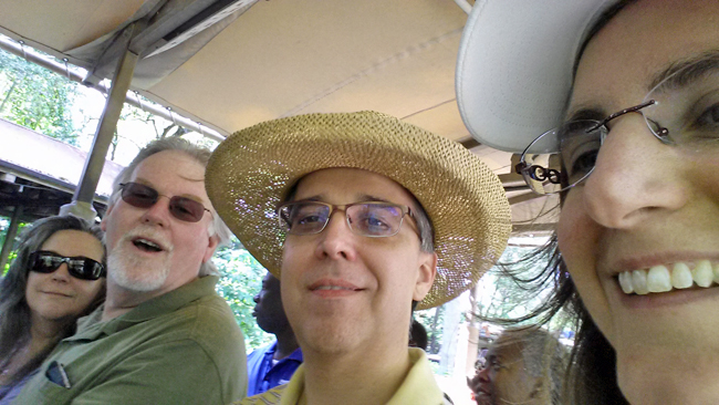 Safari Ride Selfies