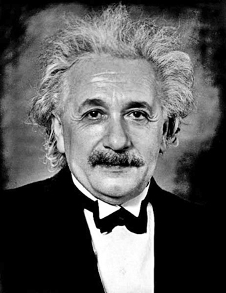 Albert Einstein Formal Portrait