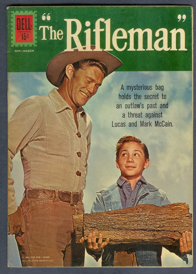The Rifleman comic book cover