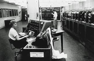 UNIVAC used at Census Bureau