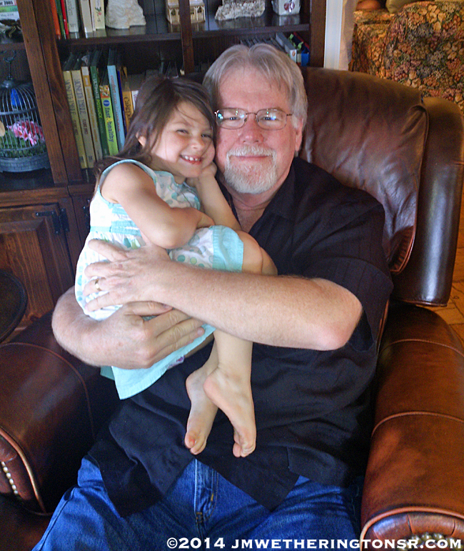 My middle granddaughter Abby.