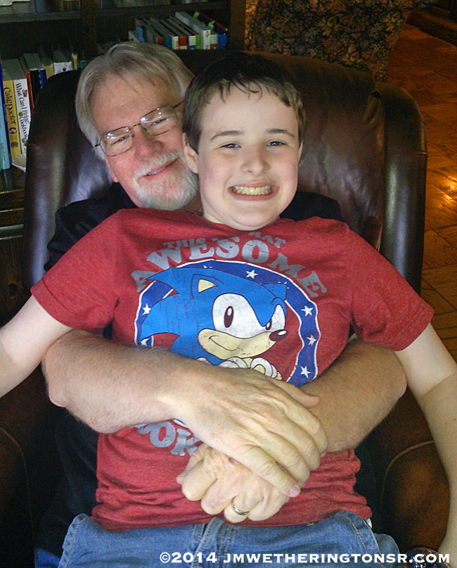 My oldest grandson Mikey.