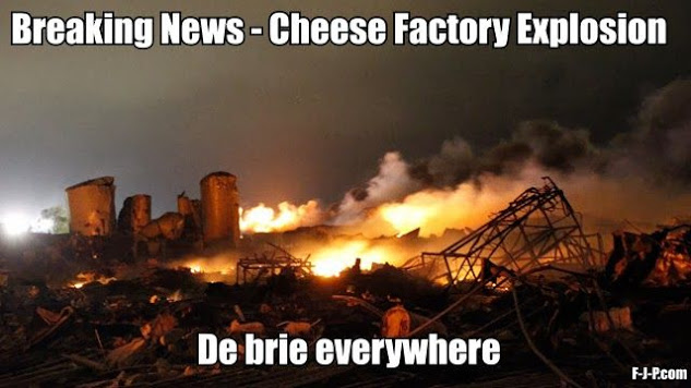 Cheese Factory Explosion