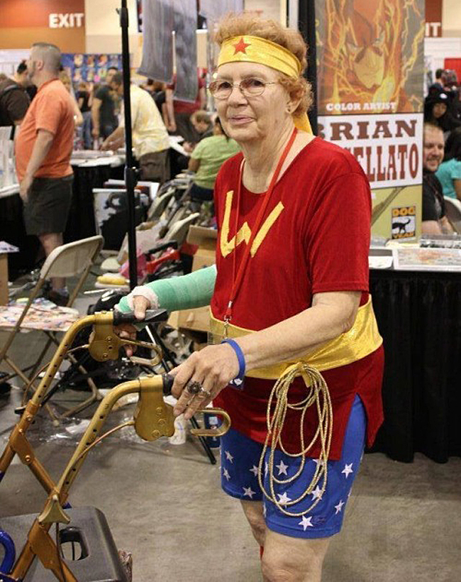 Mature Wonder Woman
