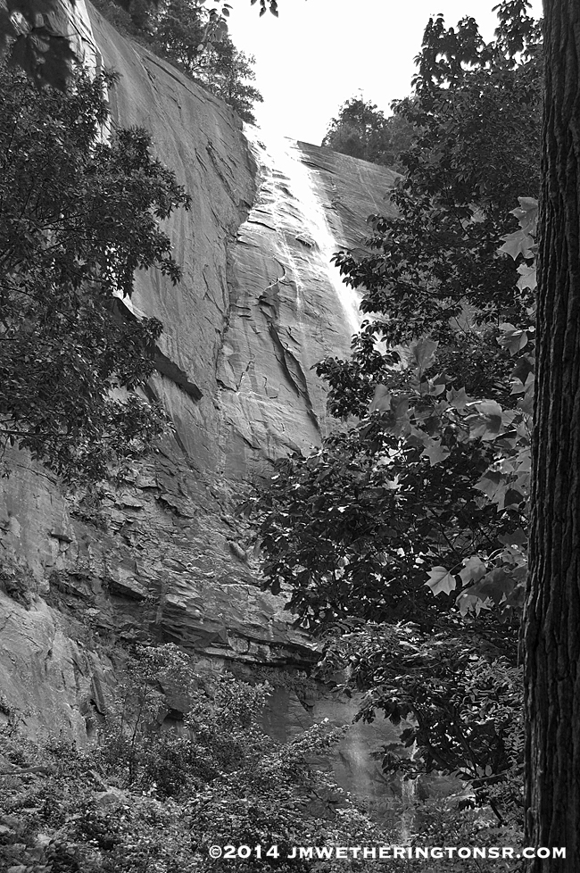 Hickory Nut Falls at Chimney Rock