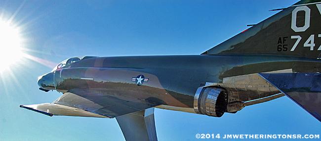 Kittinger Park F-4 Phantom II Dedication