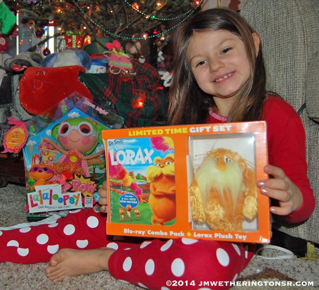 Abby and Christmas gift