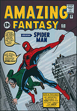 Amazing Fantasy #15 - Debut of Spider-Man