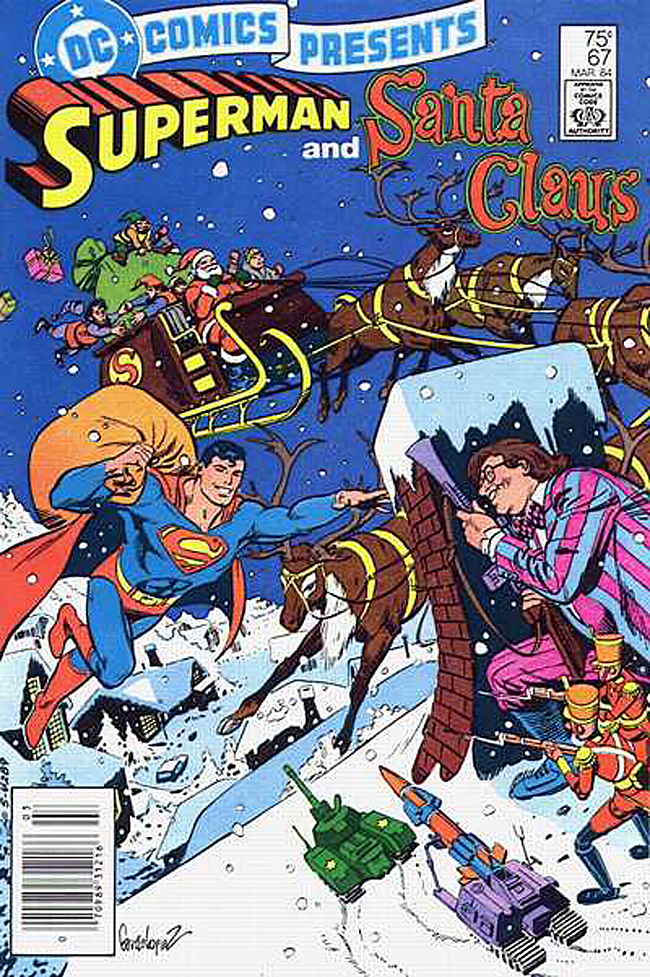 DC Comics Presents Superman and Santa Claus