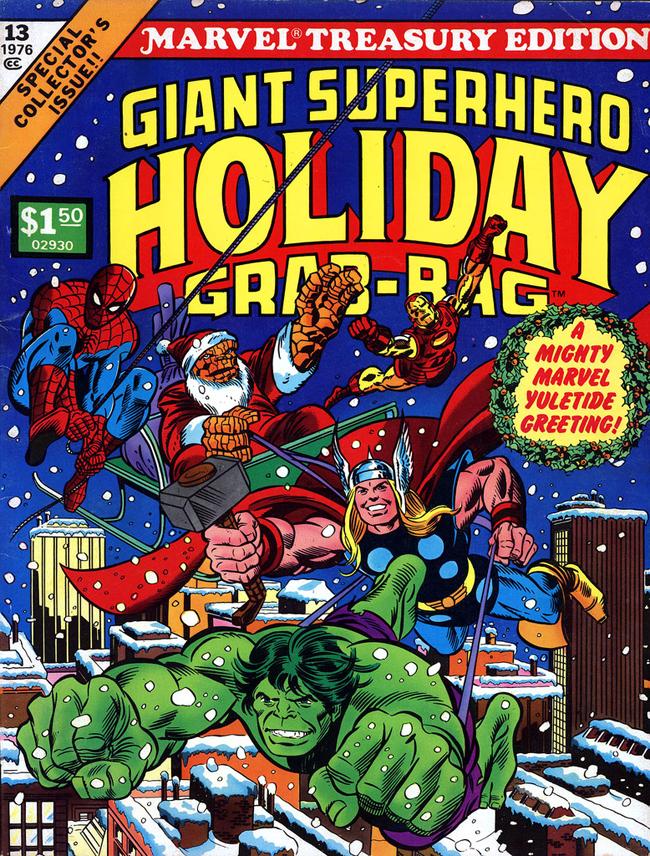 Giant Superhero Holiday Grab Bag #13