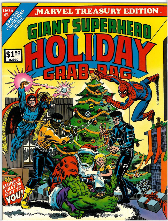 Marvel Comics Giant Superhero Holiday Grab Bag cover