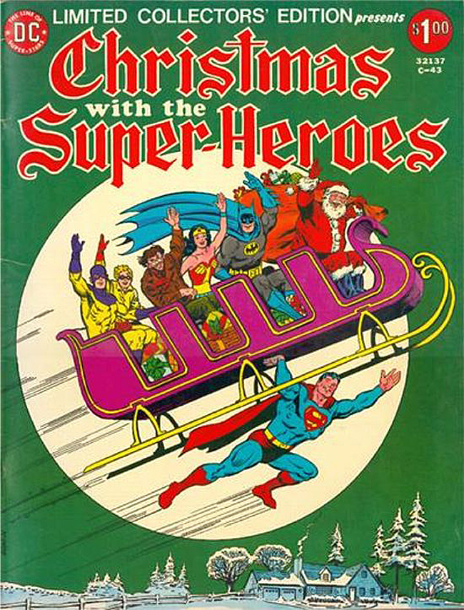 Christmas with the Super-Heroes cover
