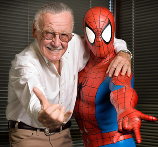 Stan Lee and The Amazing Spider-Man
