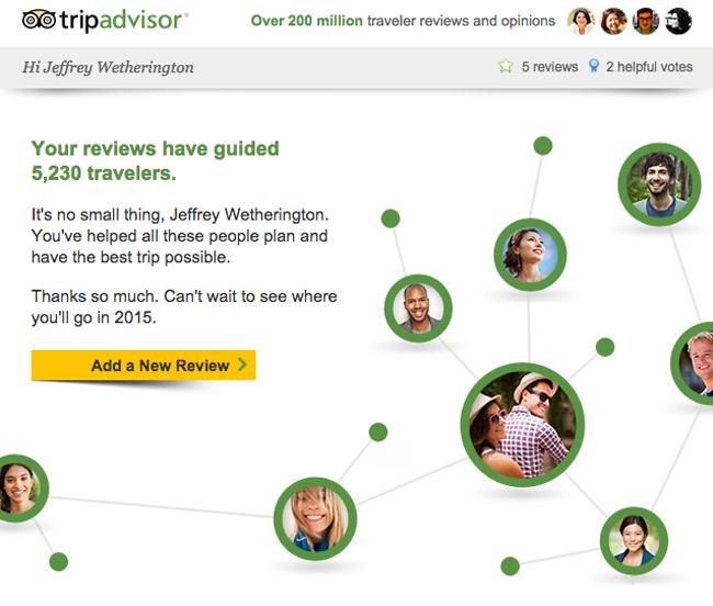 TripAdvisor Statistics