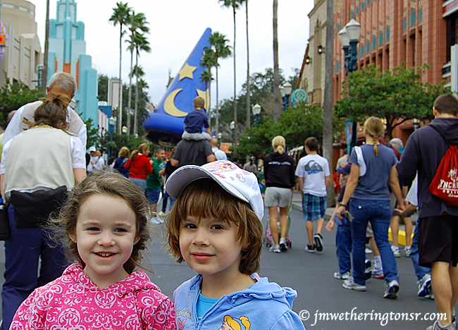 Heather and Rowan at Disney Hollywood Studios in 2010