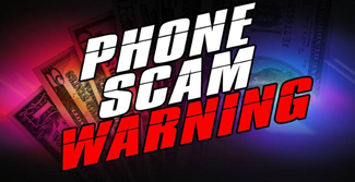 Phone Scam Warning