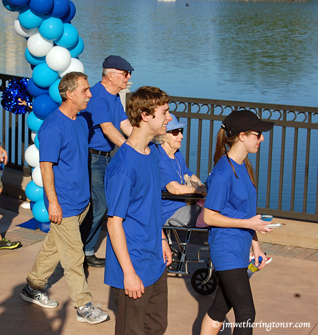 Moving Day National Parkinson's Foundation Benefit Walk at Crane's Roost Park, Altamonte Springs, FL on March 14, 2015.