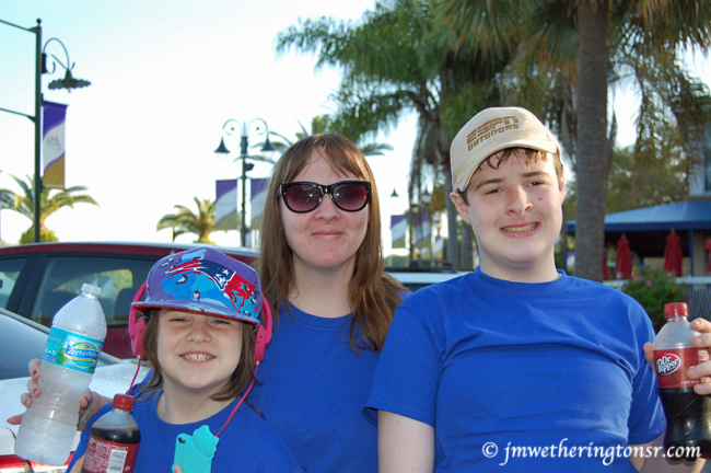 Ann, Mikey and Heather