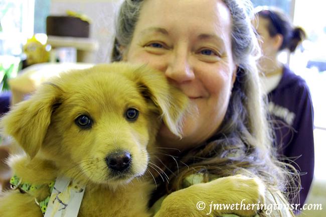 Cindy and Bella, April 12, 2011