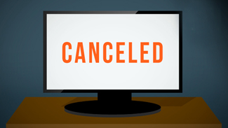 Canceled TV Screen