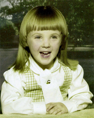 Ann at about 3 years of age. Her laugh and smile were infectious!