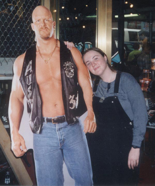 "Ann ""meets"" Stone Cold Steve Austin, and that's the bottom line, 'cause Stone Cold said so!"