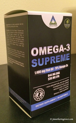 Omega-3 Supreme 1400 mg Fish Oil Concentrate