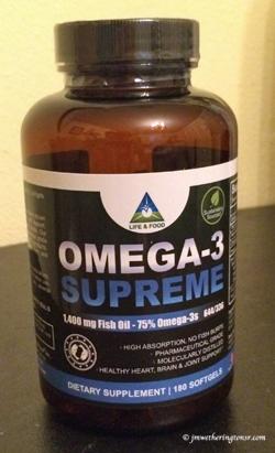 Omega-3 Supreme 1400 mg Fish Oil Concentrate