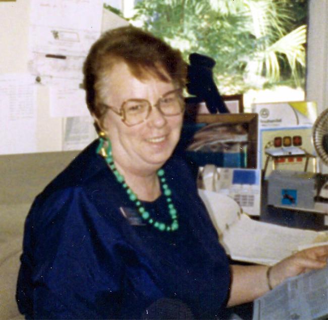Mom in 1990