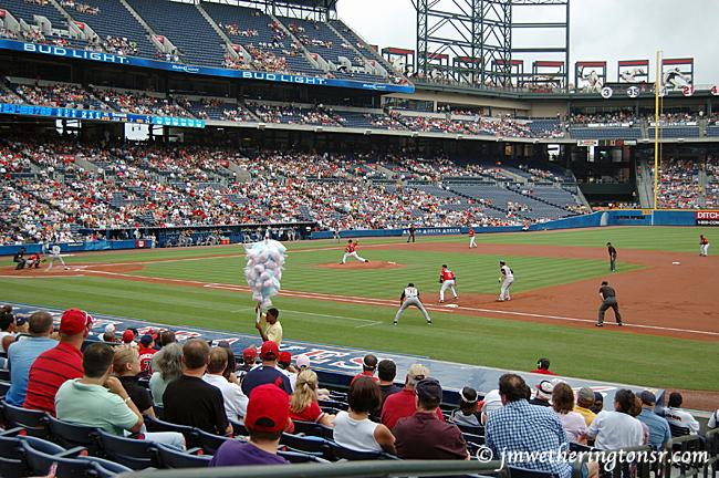 Atlanta Braves vs Pittsburgh Pirates on July 15, 2007 at Turner Field in Atlanta, GA