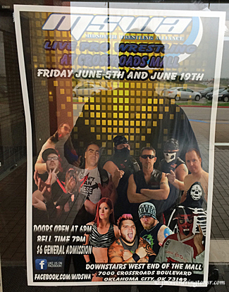 Mid South Wrestling Alliance poster