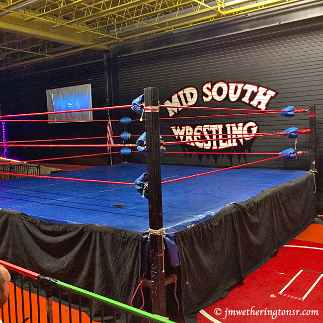 MId South Wrestling ring