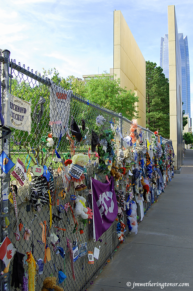 Oklahoma City National Memorial and Museum fence