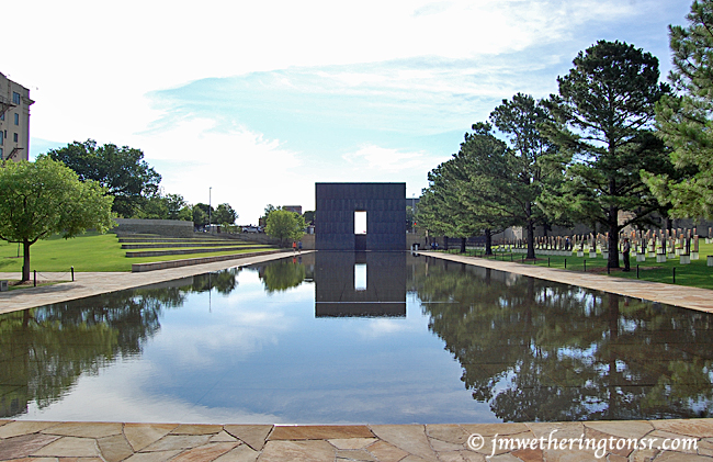 Oklahoma City National Memorial and Museum reflecting pool