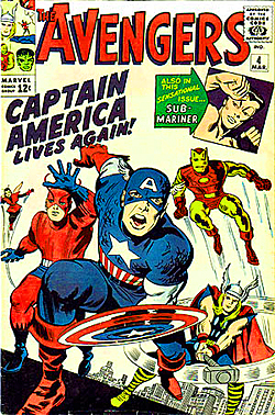 Cover of The Avengers by Jack Kirby