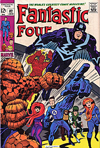 Cover of Fantastic Four #82 by Jack Kirby