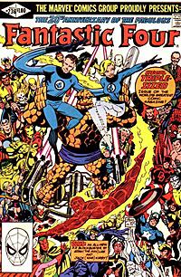 Cover of Fantastic Four 236 by John Byrne