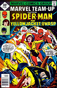 Cover to Marvel Team-Up #59 by John Byrne