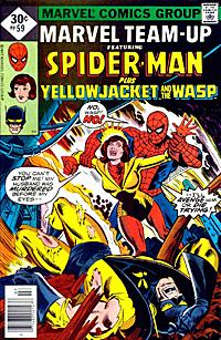 Cover to Marvel Team-Up #59 by John Byrne