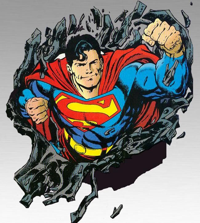 Superman super-punch by John Byrne