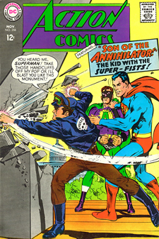 Cover to Action Comics 356