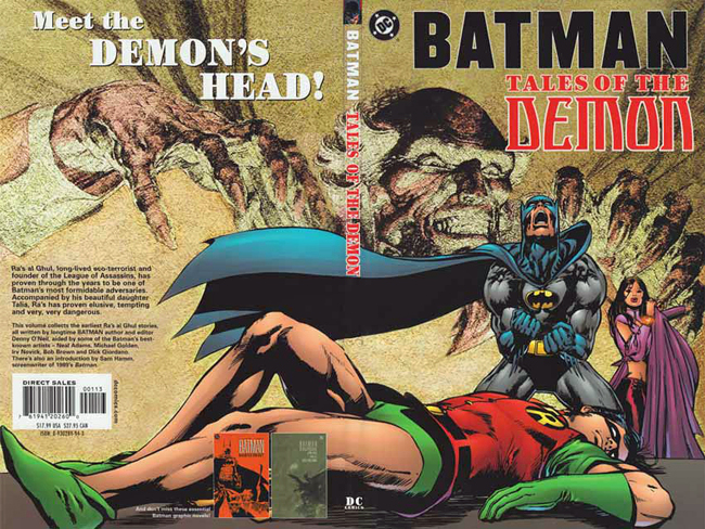Batman and Ra's al Ghul by Neal Adams