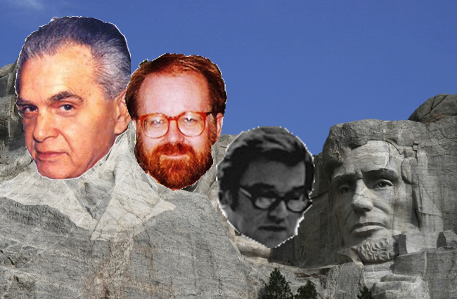 Mt. Rushmore of Comic Book Artists - Jack Kirby, John Byrne and John Romita, Sr.