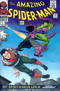 The Amazing Spider-Man #39 cover by John Romita, Sr.