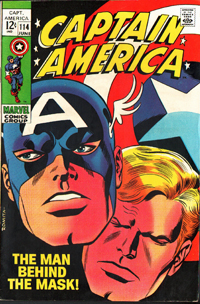 Captain America #144 cover by John Romita, Sr.